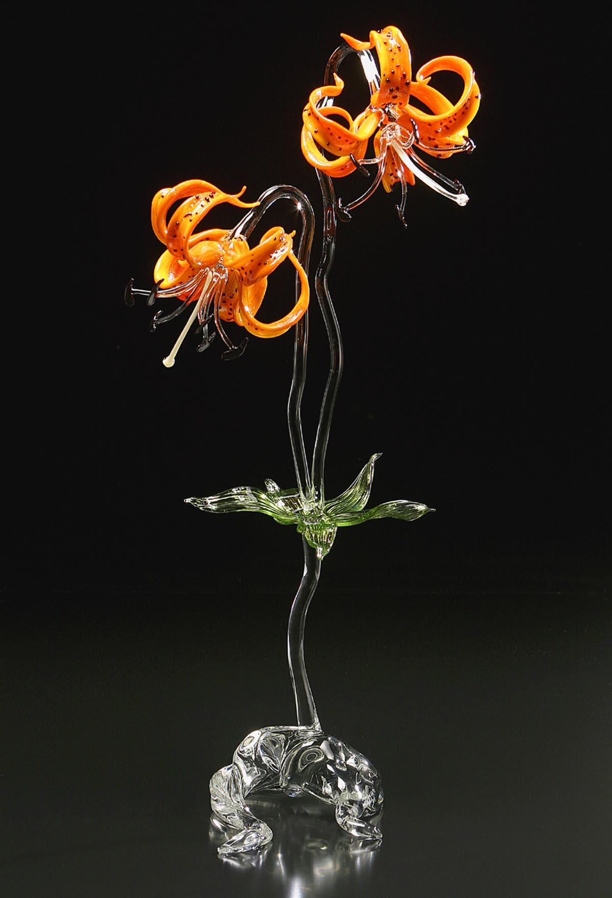 Blown glass hand blown art glass glass artist handblown glass lillium superbum izmirmasajfo Image collections
